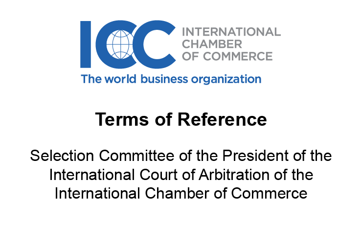 ICC - Terms of Reference