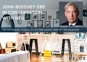 WEBINAR: John Beechey CBE in conversation with Neil