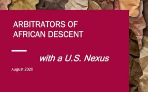 Arbitrators of African Descent